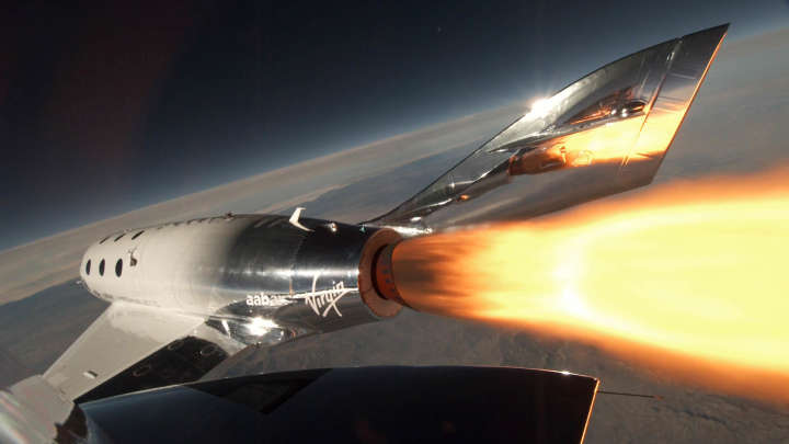 Virgin Galactic's SpaceShipTwo Just Reached Space For First Time