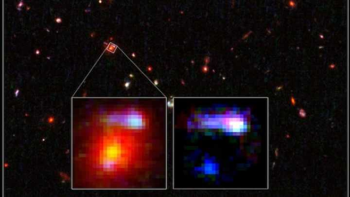 Hubble Spots Most Distant Cosmic Magnifying Glass Yet