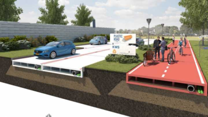 """Could Plastic """"Lego"""" Roads Pave The Way To A Greener Future?"""