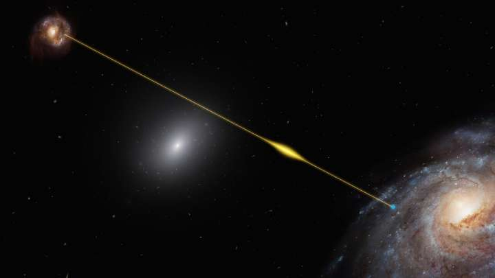 A Fast Radio Burst From Another Galaxy Seems To Be Repeating In A 16-Day Cycle