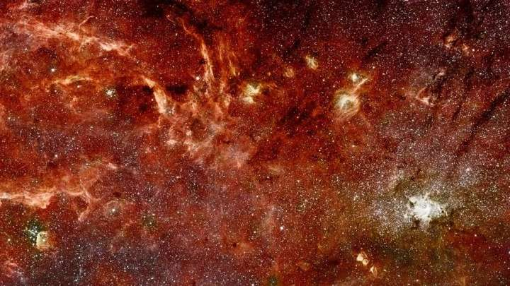 Mystery At The Center Of The Milky Way Turns Out To Be An Optical Illusion