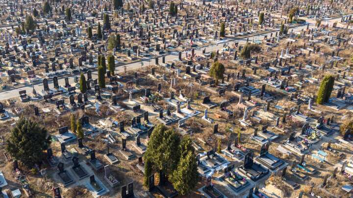 default 1620819038 aerial view of a cemetery image credit leshiy985 shutterstock com