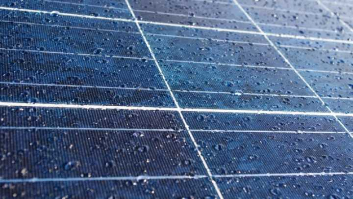 New Solar Panels Can Generate Energy From Rain Drops