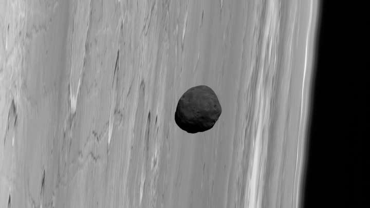 One Of Mars' Moons May Actually Be A Chunk Of The Red Planet