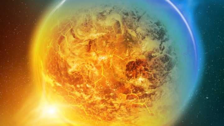 This Ghostly Exoplanet Is A Volcanic Hell In Deep Space
