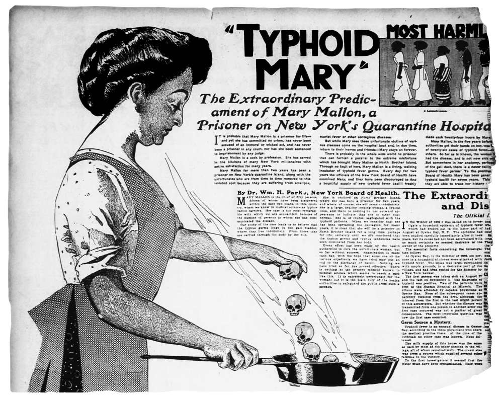 Typhoid Mary, Creative Commons