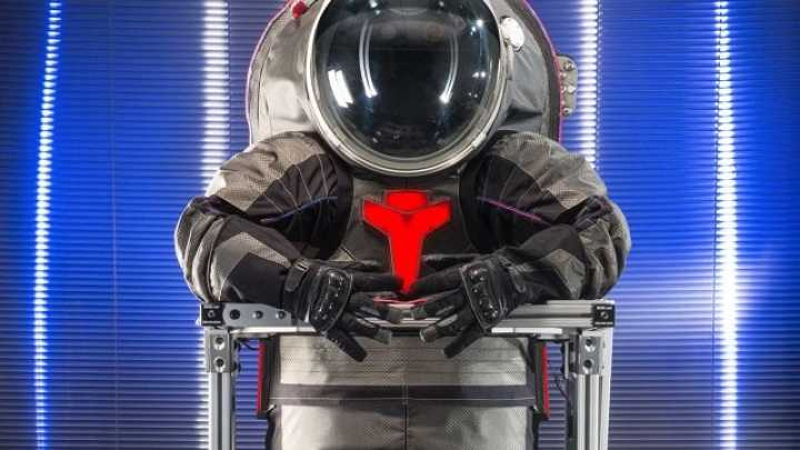 NASA Unveils New Mars Spacesuits