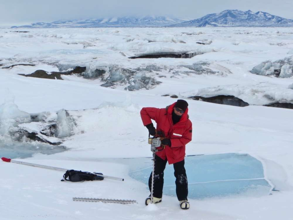 Meltwater Pond Are Causing Antarctic Ice Shelves To Buckle Under The Weight