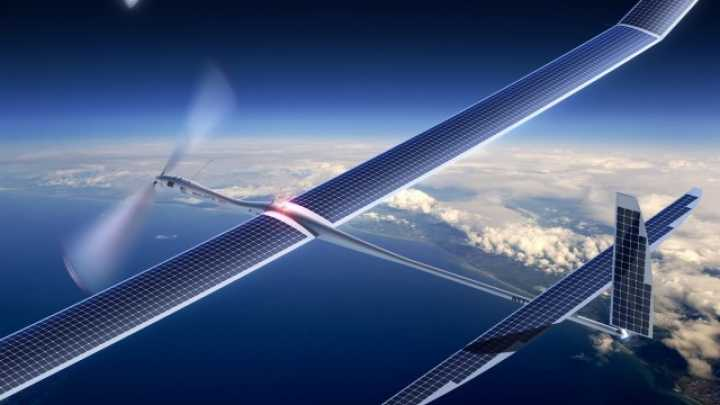 Solar-Powered Drone Could Fly Nonstop For Five Years