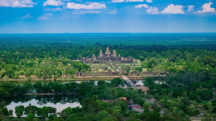 Vast Medieval Cities Discovered Under The Rainforest In Cambodia