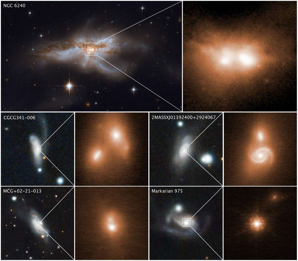 Scientists Have Found A Surprising Number Of Galactic Black Holes Are Still Merging Together