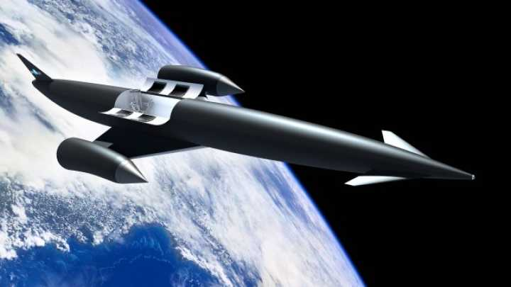 Space Plane Company Develops Revolutionary Hybrid Rocket Engine That Could Take You Anywhere In The World In Four Hours