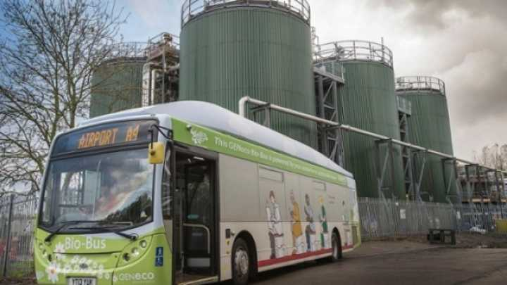 Human Poop-Powered Bus Hits UK Roads | IFLScience