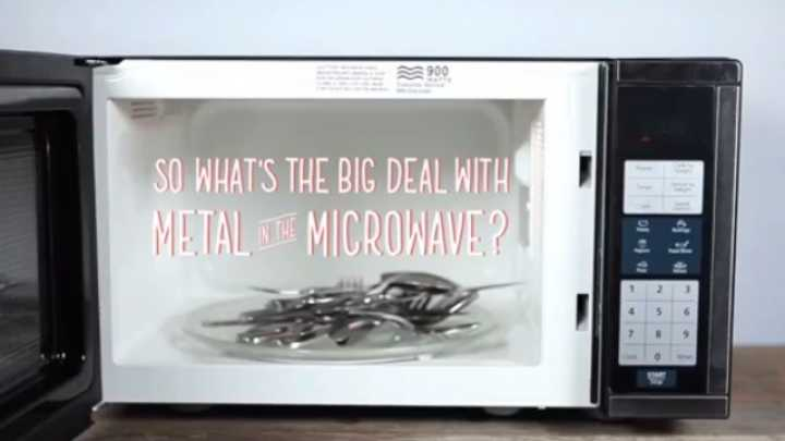 What Happens When You Put Metal In A Microwave Iflscience