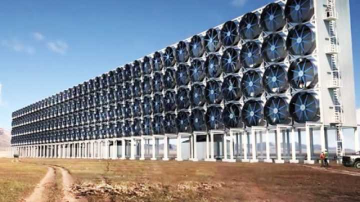 This Giant Wall Sucks Carbon Dioxide Straight Out Of The Air