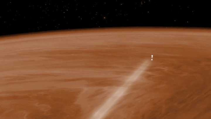 Death Plunge Of Venus Spacecraft Reveals Surprisingly Cold Temperatures On The Hottest Planet