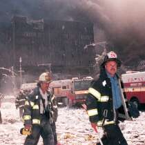The aftermath of 9/11.