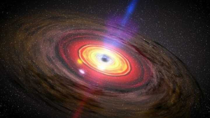 Nearby Star Escapes Black Hole, But Loses Jupiter-Sized Chunk