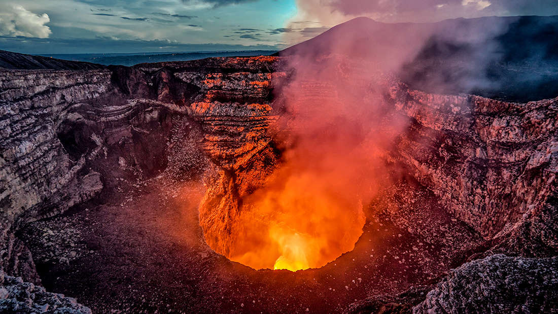 A Tourist Fell Into A Hawaiian Volcano