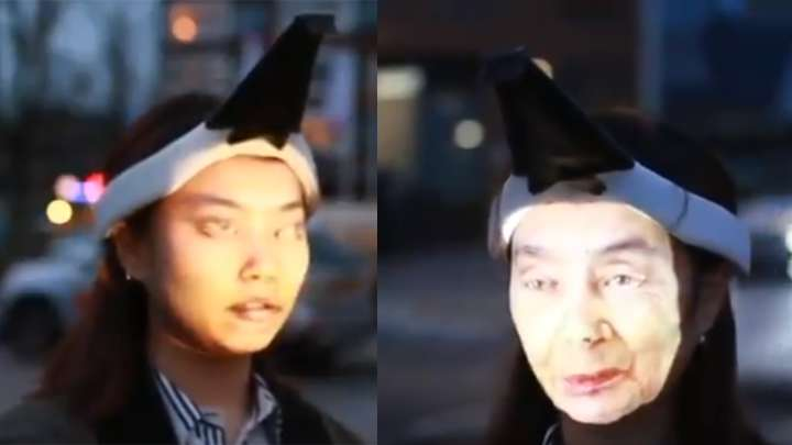 """That """"Wearable Face Projector"""" Hong Kong Protesters Are Supposedly Using Is Not Real"""