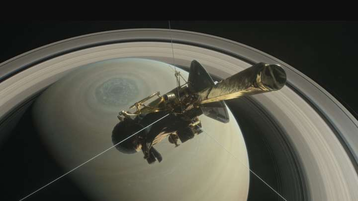 Stunning Video Depicts Cassini Spacecraft's Dramatic End