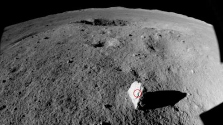Unusual 'Milestone' Rock Found Standing Up On The Far Side Of The Moon - IFLScience