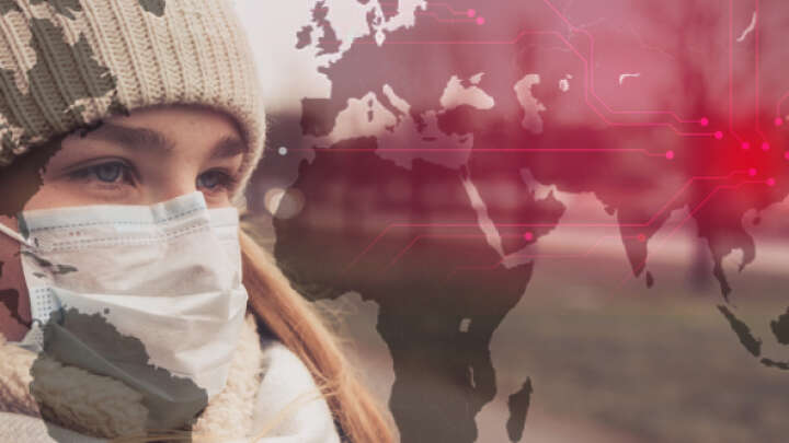 default 1610544634 woman in mask overlayed with a virus map concept of asia.