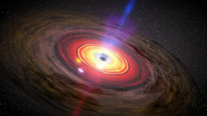 Supermassive Black Hole Is Thirty Times Larger Than It Should Be