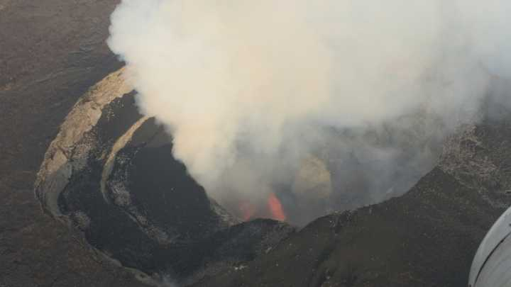 New Lava Lake Appears Atop African Volcano