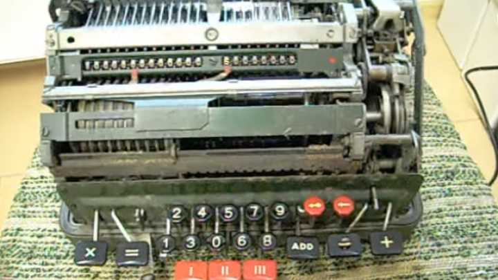 Watch What Happens If You Try To Divide By Zero On This Mechanical Calculator