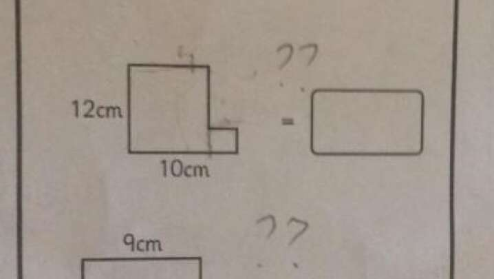 This 10-Year-Old Kid's Math Homework Is Baffling The Internet